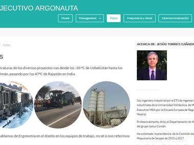 elejecutivoargonauta.com is a personal blog