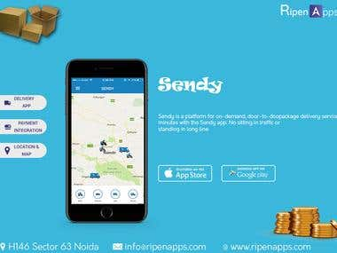 Delivery Service Mobile App