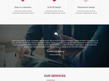 Pixcel Gateway - Web Design