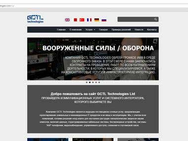Translation of an English website into Russian