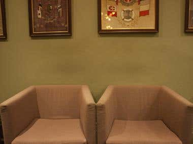 Interior photography - restaurant