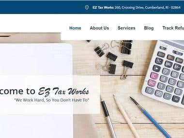 EZ Tax - http://www.eztaxworks.com/