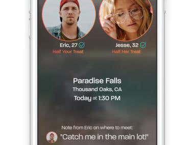 Dating App (iOS App)