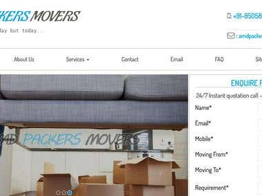 AMD Packers & Movers - relocation industry