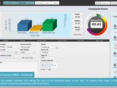 Club Management System (Web + Desktop)