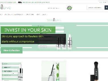 SkinLinc | eCommerce for UAE based Multilingual
