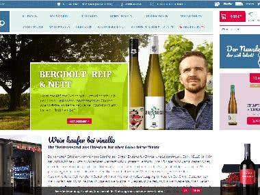 Vinello | Shopware5 eCommerce Portal
