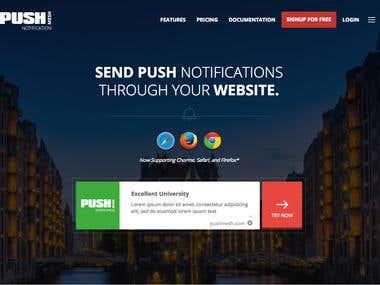 PushMesh(NodeJs/MongoDB)