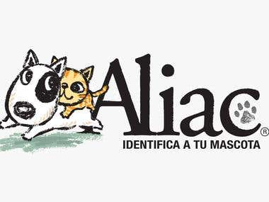 Brand Identity & Advertising for ALIAC (Pet ID System)