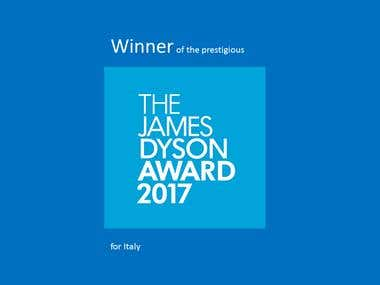 Winner JAMES DYSON AWARD 2017 for Italy