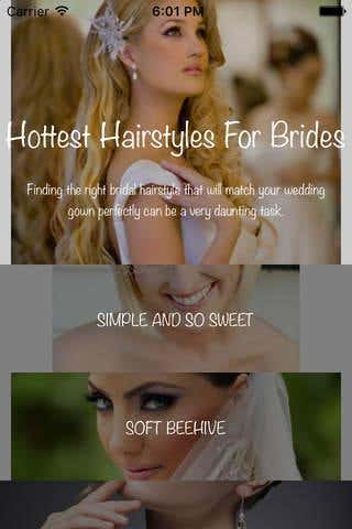 Hottest Hairstyle For Brides