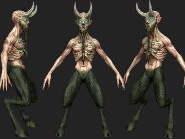 gaming character