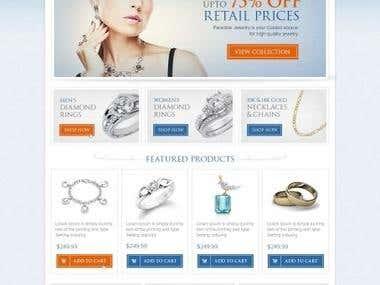 Amazon Web Store Design