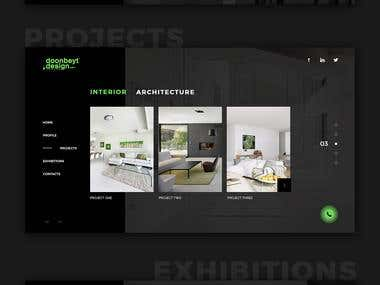 Design studio website