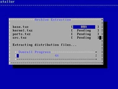 Install FreeBSD 9