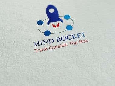 Mind Rocket logo design
