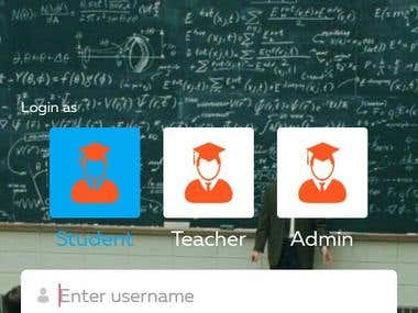 Customised Android Based LMS.