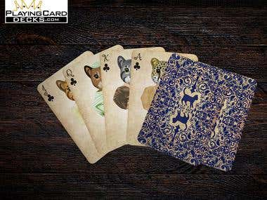 Custom Playing Cards Design and Illustrations