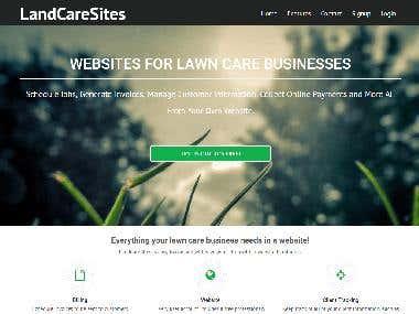 Land Care Sites | Laravel based Portal