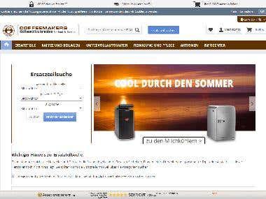 coffeemakers | Shopware5 eCommerce development