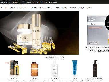 mussler-beautynet | Shopware5 eCommerce Portal