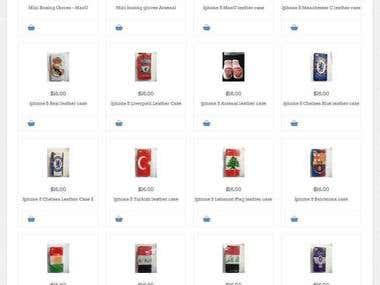 Mobile Accessories Site
