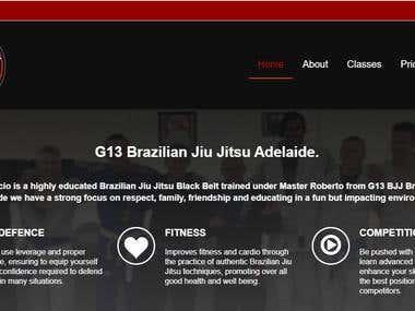 G13 Martial Arts