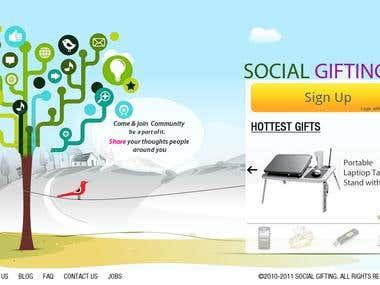 Gift Website