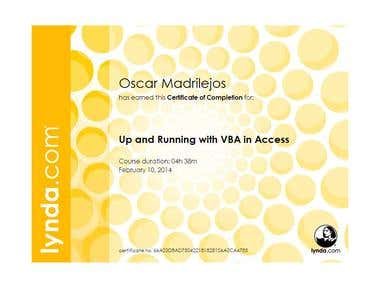 Up and Running VBA in Access