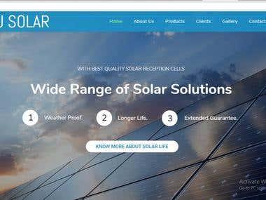Solar System Industry