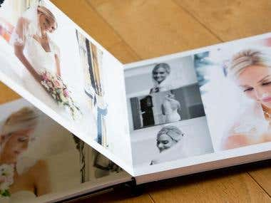 Photo Album Design, Photo Book Design.