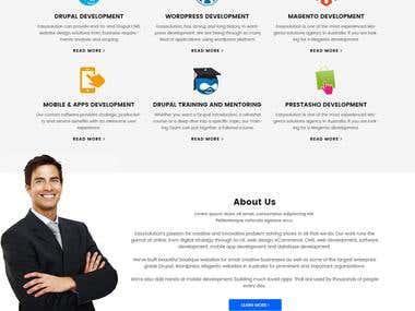 PSD TO HTML , DRUPAL