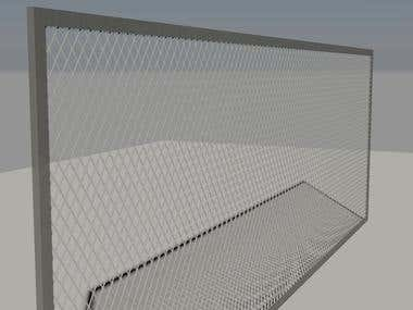 AUTO CAD 3D GRILL MODELING