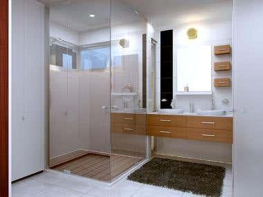 3D Interior (Bathroom)