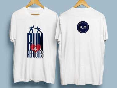 T-shirt Design for Charity Run