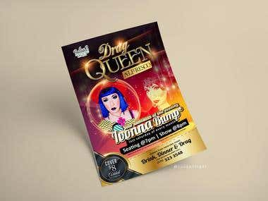 Drag Queen Flyer - USA
