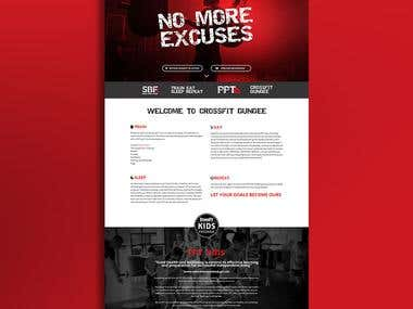 Crossfit Dundee Web Design