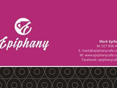 Epiphany Cafe Logo & Branding