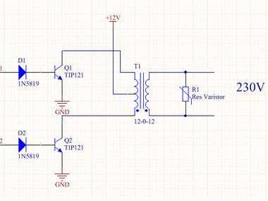 12v to 230v Inverter