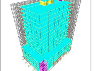 Building Structural Modelling