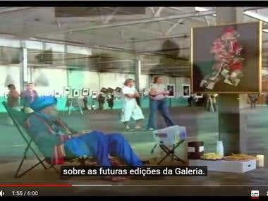 The Homeless Gallery - Tomek Sikora (legenda pt-br)