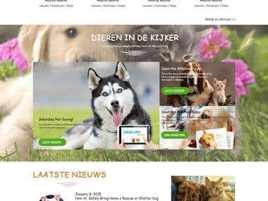 Petcare Woocommerce Website