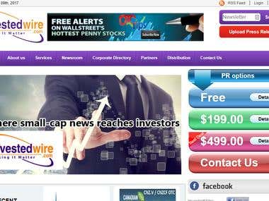 Investedwire Business website