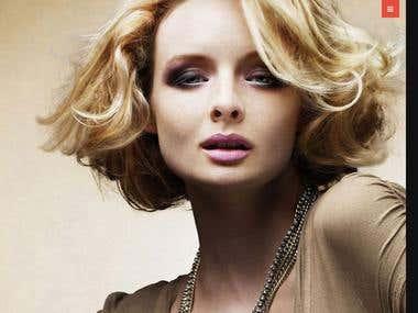 Website Design: Beauty & Hair Boutique Site