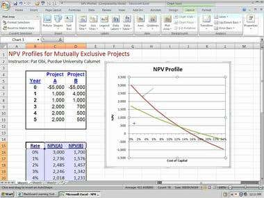 Portfolio PowerPoint / Excel Presentation 06