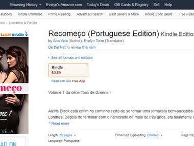 Recomeço - Ana Vela (e-book)