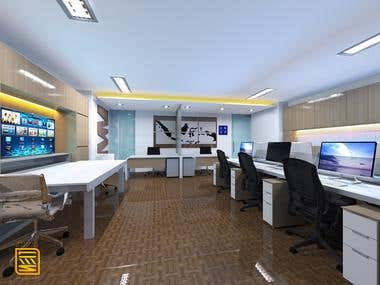 Tiger Office Jakarta- Interior Design
