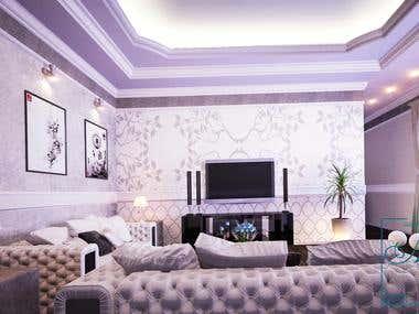 interior design of reception