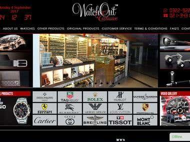 WatchOut Exclusive Website Development