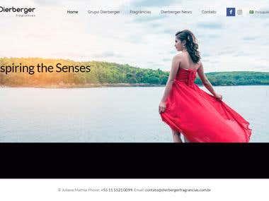 Website Dierberger Fragrances